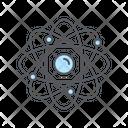 Atomic Atom Education Icon