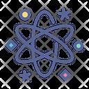 Atom Nuclear Energy Icon