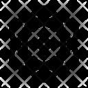 Atomic Knowledge Quantum Icon
