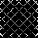 Atomic Orbitals Science Symbol Atom Icon