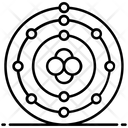 Atomic Orbitals Icon