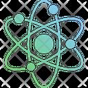 Atomic Structure Atomic Model Atomic Orbitals Icon