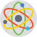 Atomic Atom Science Icon