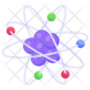 Electron Atomic Symbol Science Icon