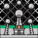 Atomium Atom Belgian Icon