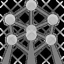 Atomium Brussels Belgium Icon