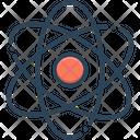Atomizing Molecules Quantum Icon