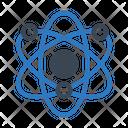 Atoms Science Molecule Icon