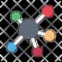 Atoms Science Neutrons Icon