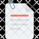 Attach Paper Attachment Icon