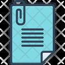 Attach Add Stationary Icon