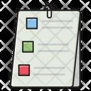 Attach Document List Icon