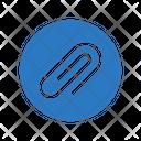 Clip Paper Attach Icon