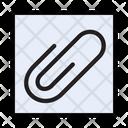 Clip Attach Pin Icon