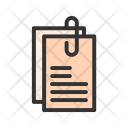 Document Attach Attached Icon
