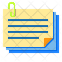 Document Files Attach Icon