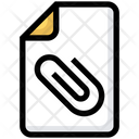File Clip Attach Icon