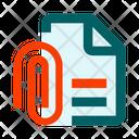 File Text Clip Icon