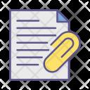 Pin Attach File Icon