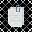 Files Attach Clip Icon