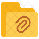 Attach Folder Data Icon