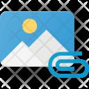 Attach Image Icon