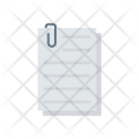 Page Attach Clip Icon