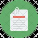 Attach Paper Paper Clip Paper Icon