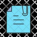 Attach Paper Icon