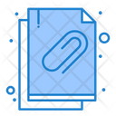 Attached Document Attachment Document Icon