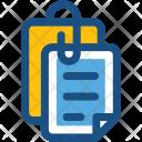 Attachment Attached Document Icon