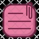 Attachment Document File Icon