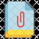 Multiple File Attachment Icon