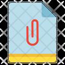 File Attachment Add Icon