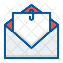 Attachment Email Inbox Icon