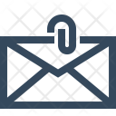 Attachment Email Envelope Icon