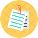 Attachment Attached Document Document Icon