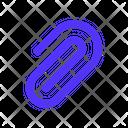 Attachment File Data Icon