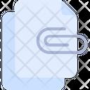 Attachment Attach File Icon