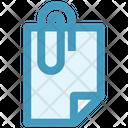 Attachment Paper Clip Icon