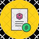 Attachment Link Document Icon