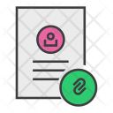 Attachment Link Document Icon
