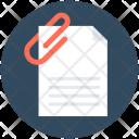 Attachment Paperclip Attached Icon