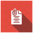 Attachment Clip Document Icon