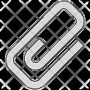 Clip Clinch Attach Icon