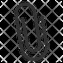 Attachment Clip Paper Icon