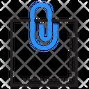 Clip Attachment Note Icon