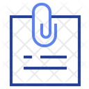 Clip Note Office Icon