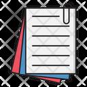 Attach Document Files Icon