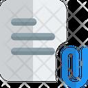 Attachment Paper Icon